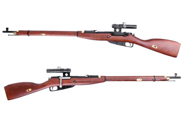King Arms: Mosin-Nagant 1891/30 Rifle (Gas) [KA-AG-158] Ka-ag-171