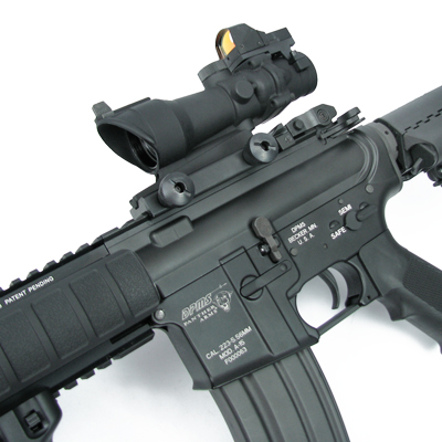 Magnifier Scope : 4x32 ACOG Scope with red dot M16 Acog